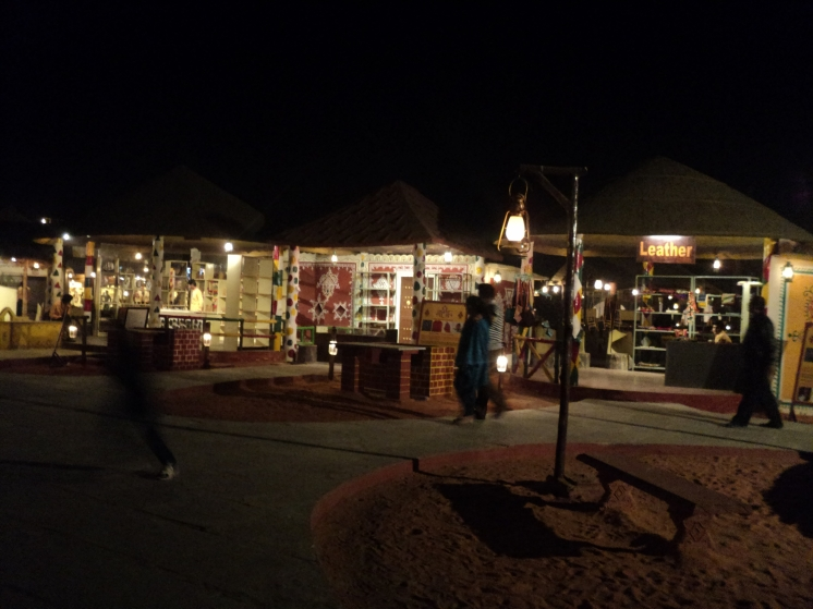 The fair at Chokhi Dhani