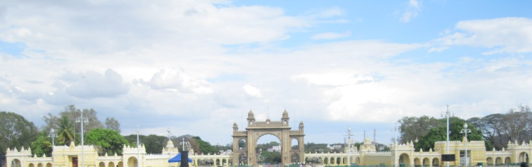 Entrance to the Mysore Palace