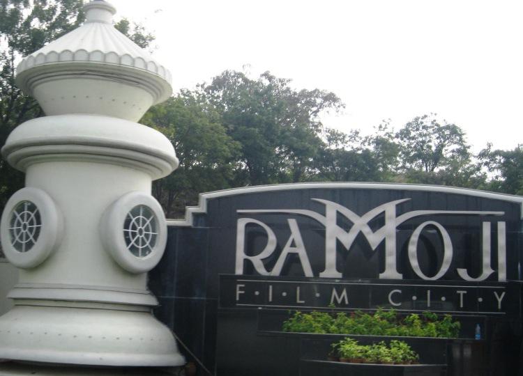 Entrance to the Ramoji Film City