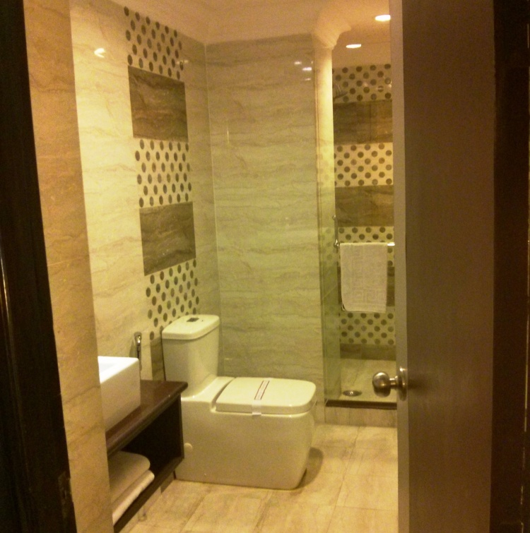 Cleanliness of the washroom is just as important as the room itself!