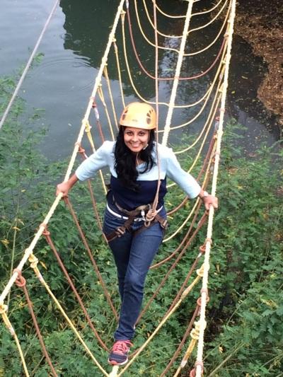 I tight-rope-walked across the Burma bridge