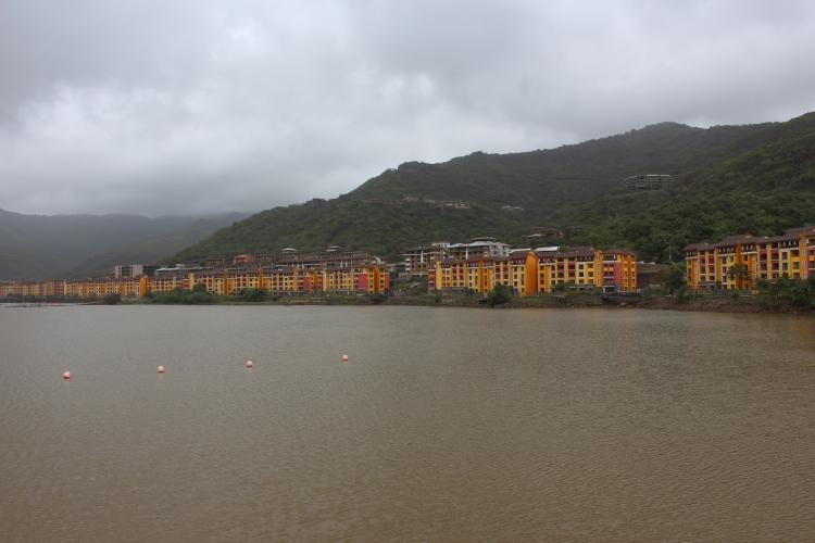 The waterfront at Lavasa