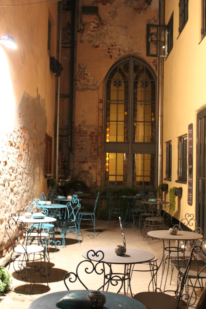 The most romantic cafe in Old Town