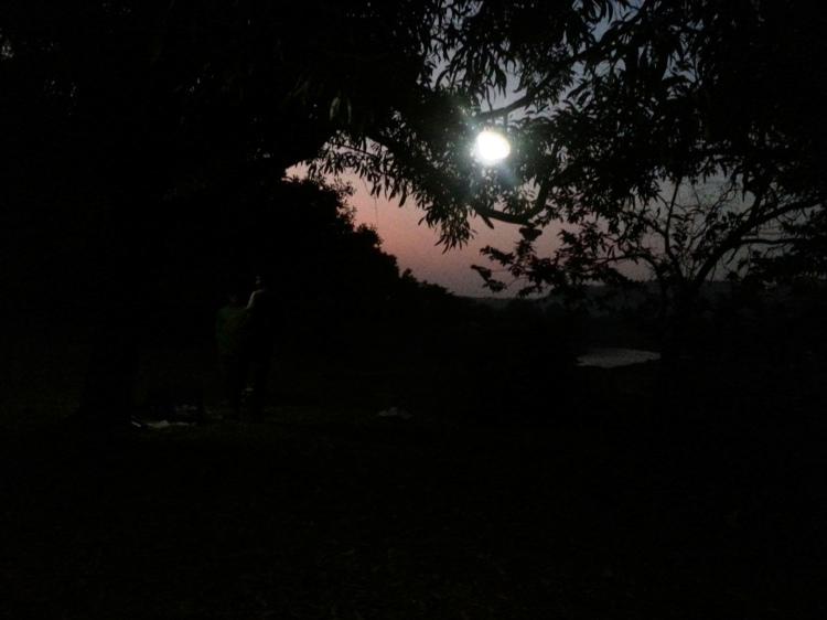Solar lights are handy for night treks