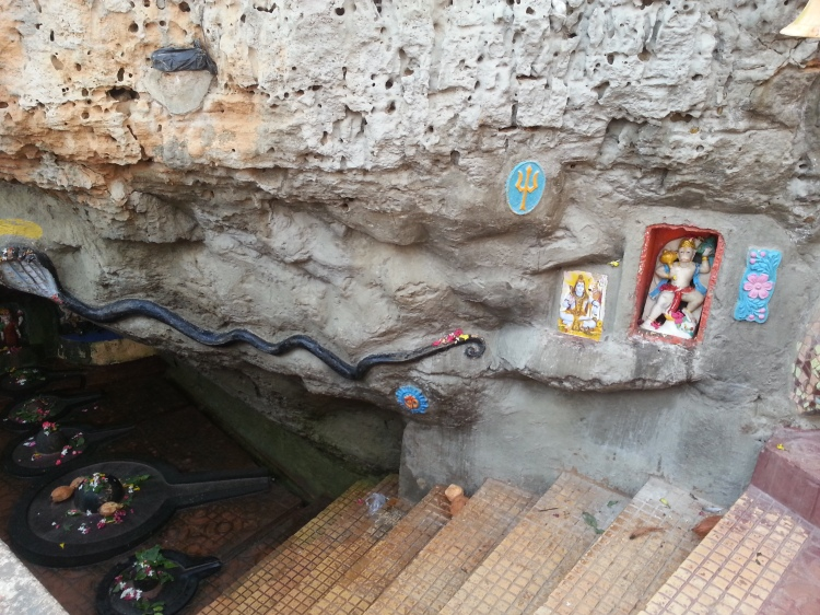 Washed by the sea, this shrine has its own story