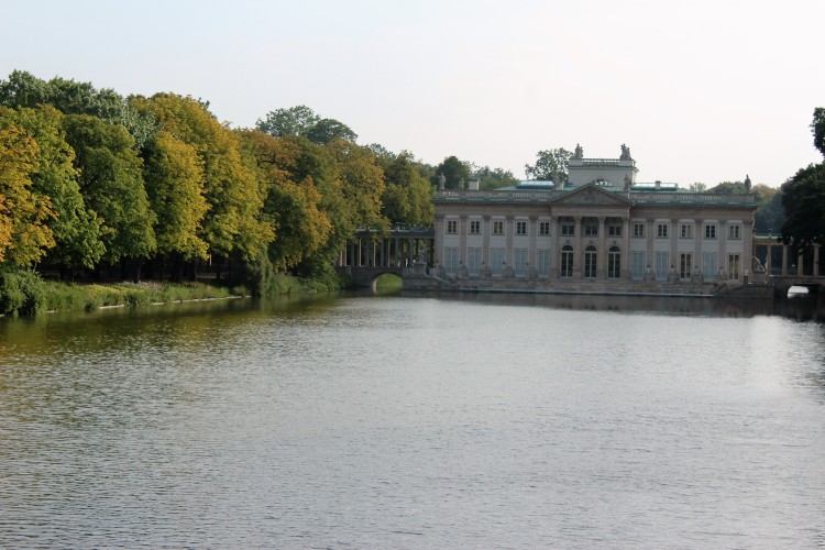Łazienki Palace - a wonder on water