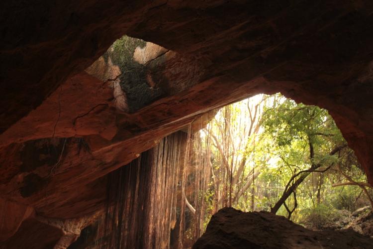 Naida Caves - where light plays hide and seek