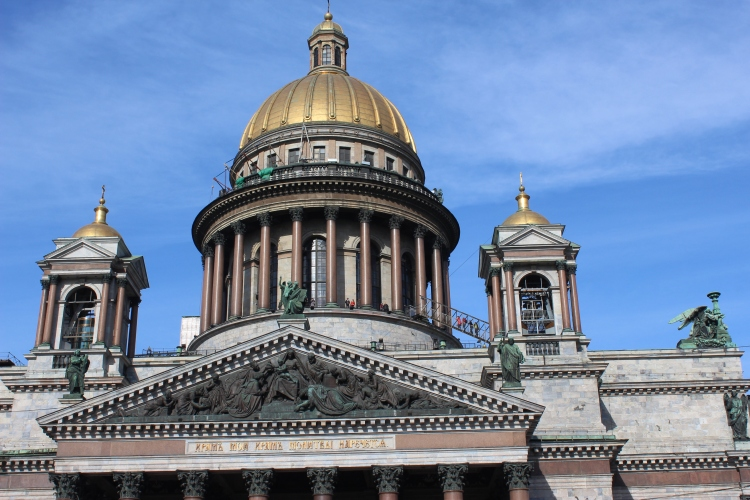 Saint Isaac's Cathedral - the largest orthodox basilica in the world