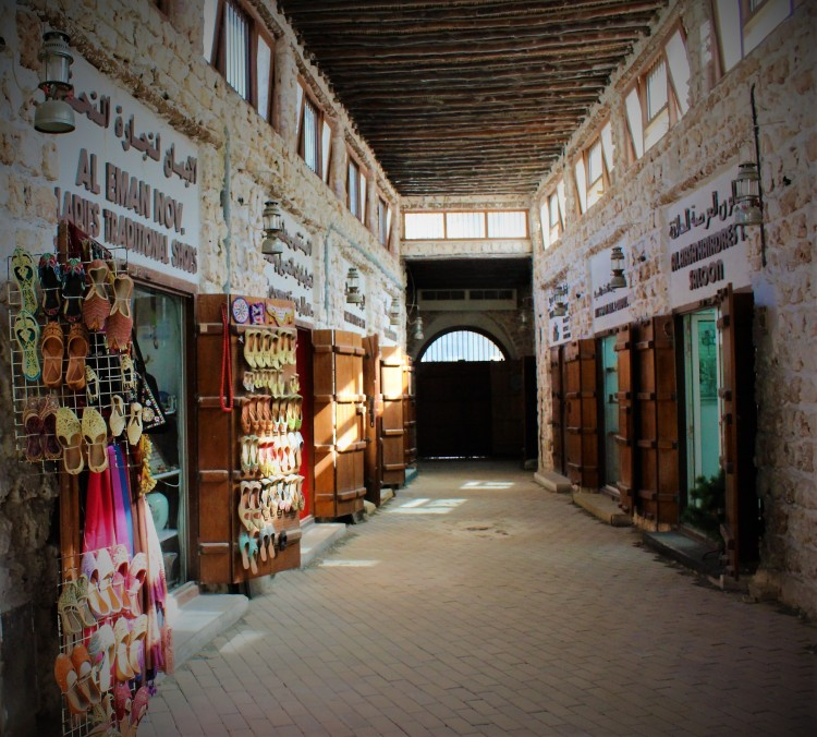 The old world charm of the souqs is worth window shopping