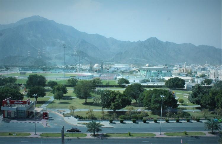 Khor Fakkan - beyond the desert plains