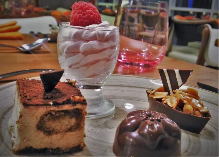 When I am in UAE, western desserts can wait